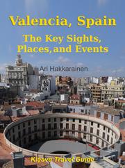 Valencia, Spain matkaopas kirjan kansikuva