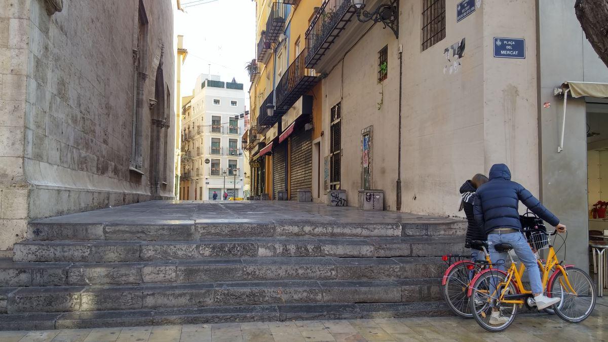 Valencia, Espanja: vanha keskustaa