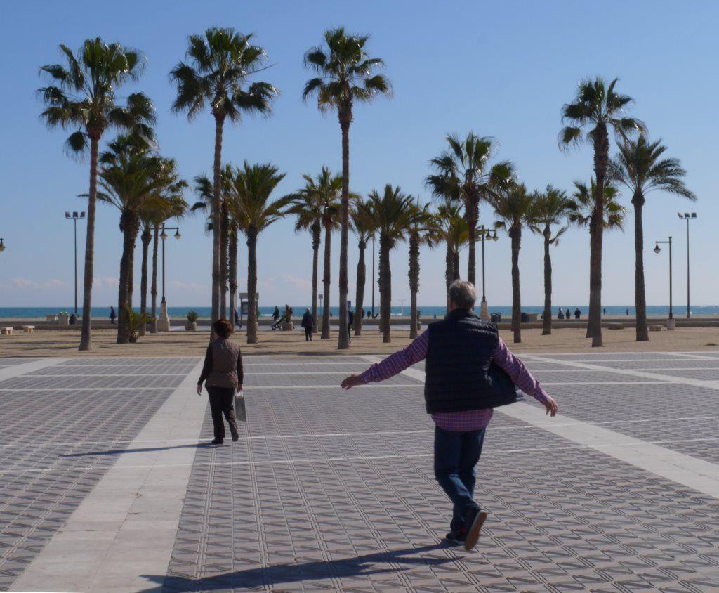 playa des arenas, Valencia, Espanja