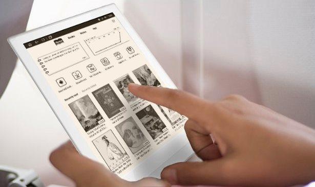 Boyue Likebook mimas e-kirjojen lukulaite ja kynällä kirjoitusalusta