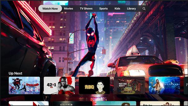 Apple TV+ elokuva ja televisio suoratoisto