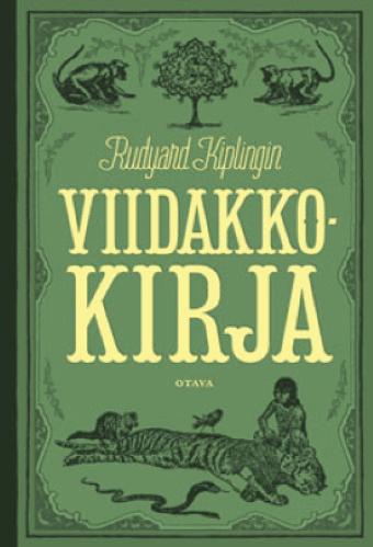rudyard kipling, viidakkokirja kirjan kansikuva