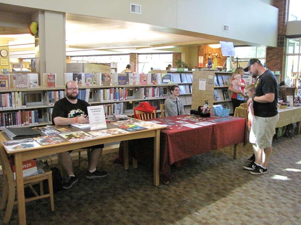 kirjasto Idaho, USA