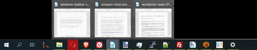 windows 10 näytön alaosan tehtäväpalkki
