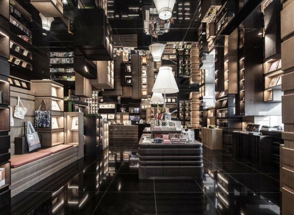 ningbo-kaupungissa kirjakauppa. kuva x living