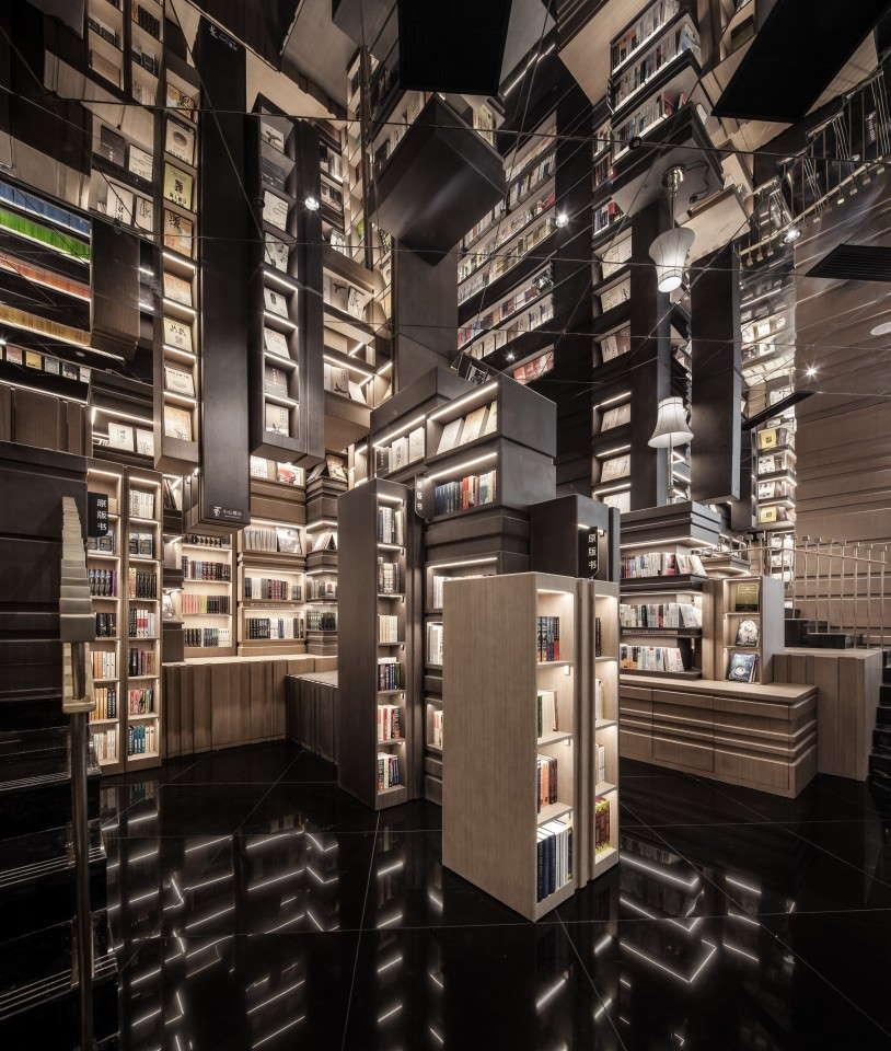 kiina, ningbo, kirjakauppa. kuva xliving