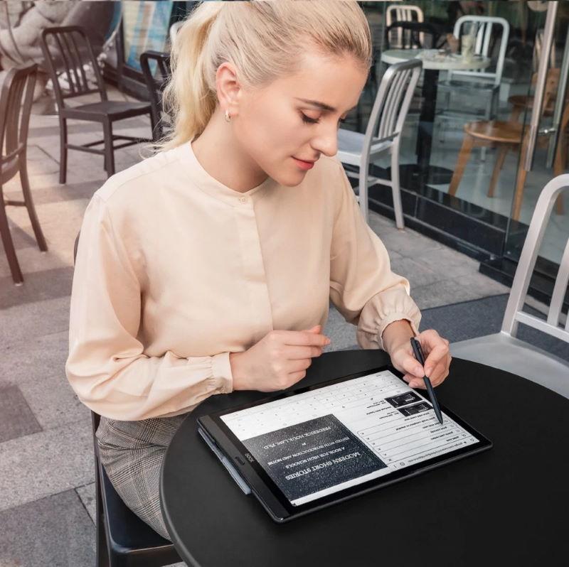 onyx boox max lumi 13.3 tuuman kynällä käsin kirjoitus ja lukulaite