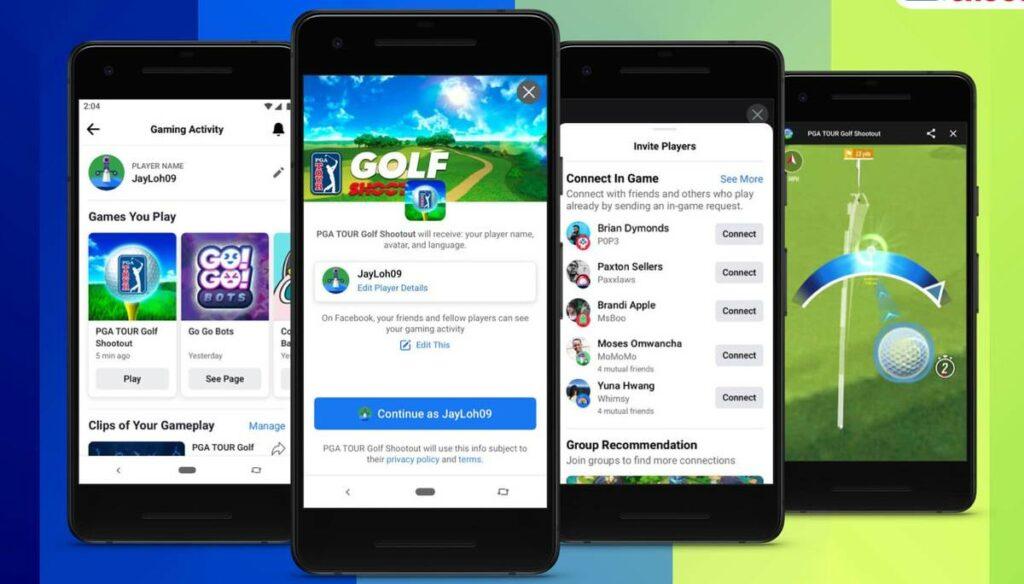 facebook gaming pelit android puhelimessa