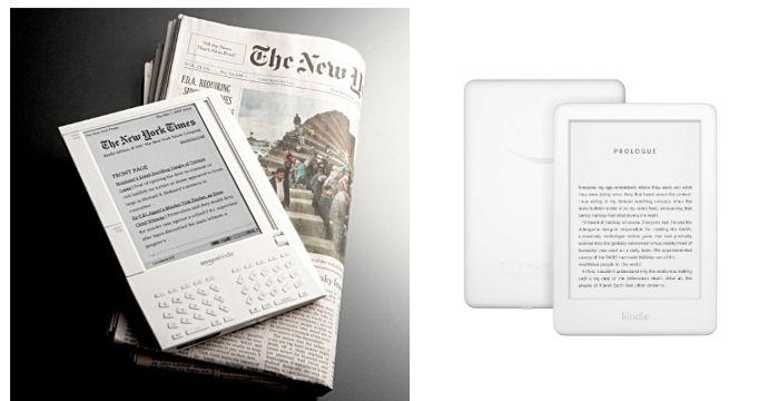 Kindle 2007, Kindle 2020 lukulaitteet
