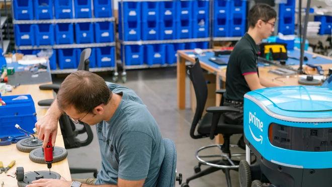 Amazonin Seattlen laboratorio