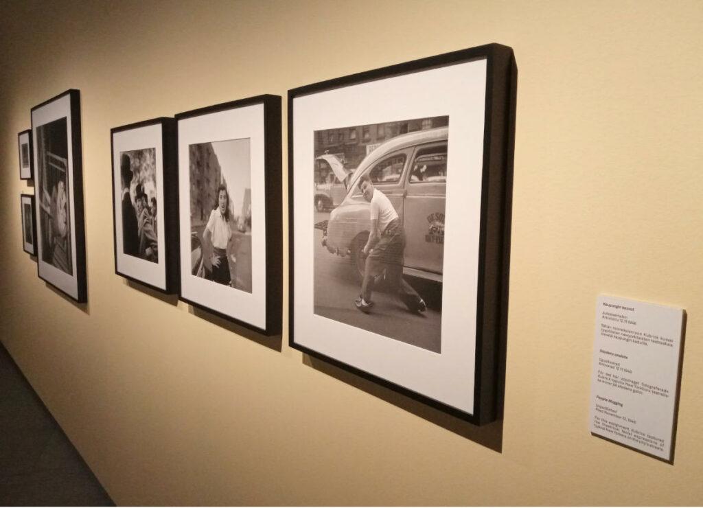 valokuvataiteen museon stanley kubrick näyttely