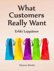 book cover image, What customers really want