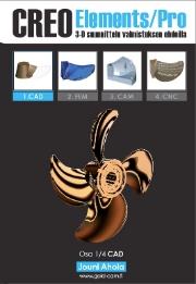 Creo Elements/Pro 3D-suunnittelu valmistuksen ehdoilla, Jouni Ahola